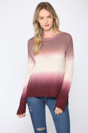 Fate Dip Dye Cashmere Sweater - Product Mini Image