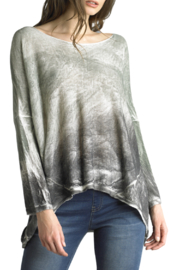 Tempo Paris Dip Dye Comfy Sweater - Front cropped