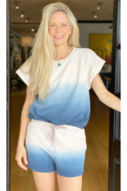 The Upside Dip Dye Lea Top - Front cropped