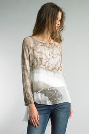 Tempo Paris Dip-Dye Silk Blouse - Product Mini Image