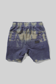 Munster Kids Dye Track Shorts - Front full body