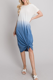 Allie Rose Dip Dyed Dress - Product Mini Image