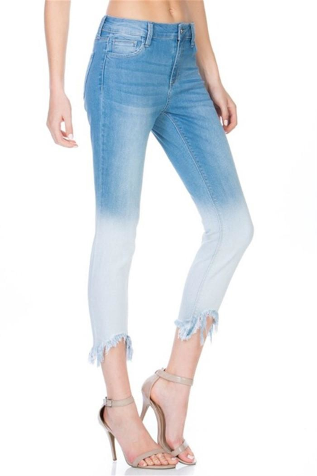 Cello Jeans Dip Dyed Jeans - Front Full Image