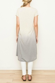 Mystree Dip-Dyed Tie Knot - Front full body