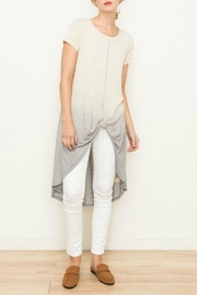 Mystree Dip-Dyed Tie Knot - Front cropped