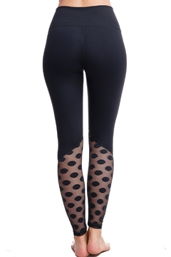 LAsociety Dipped In Dots High Waisted Leggings - Alternate List Image