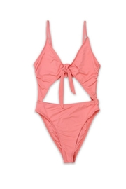 Dippin Daisey's  Tie Front Bathingsuit - Product Mini Image