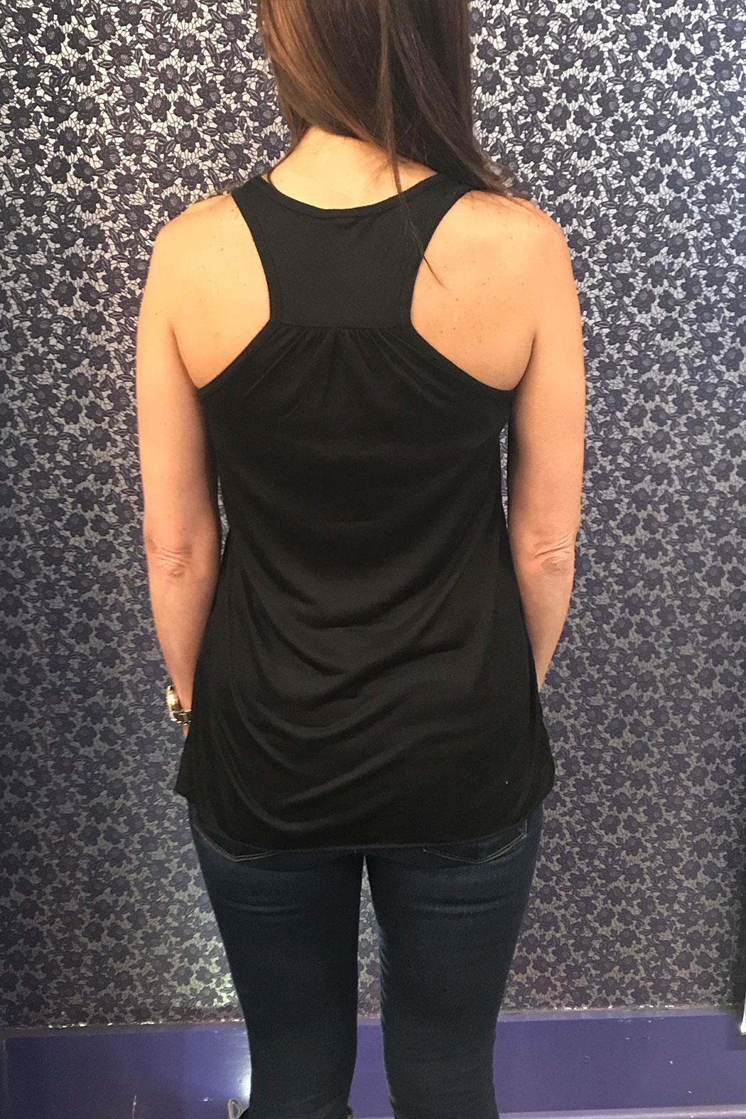 Blank Bella + Canvas Dirty Jersey Tank - Front Full Image