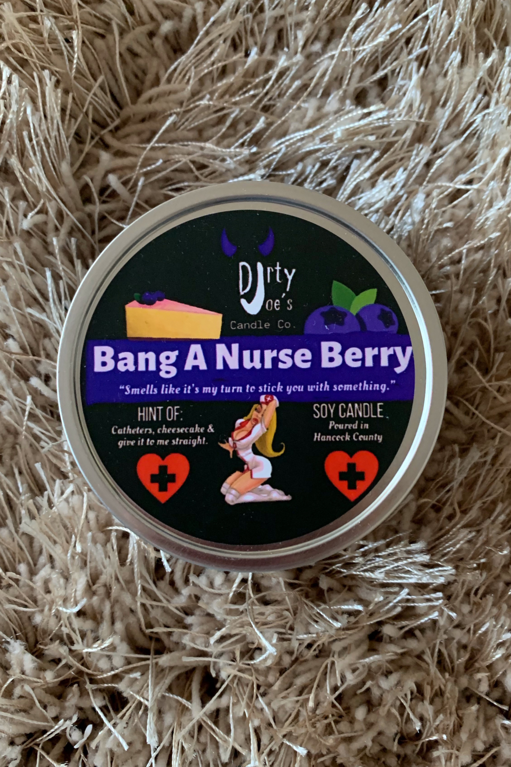 Dirty Joes Candle --Bang A Nurse Berry - Main Image
