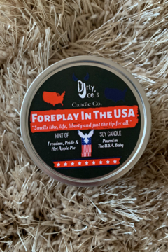 Dirty Joes Candle --Foreplay In The USA - Product List Image
