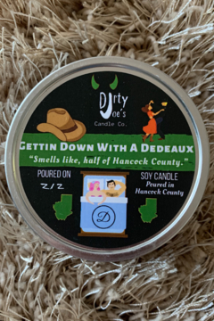 Dirty Joes Candle --Gettin Down With A Dedeaux - Product List Image