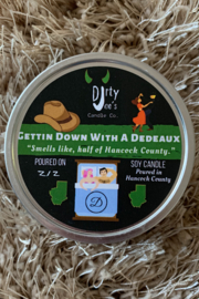 Dirty Joes Candle --Gettin Down With A Dedeaux - Product Mini Image