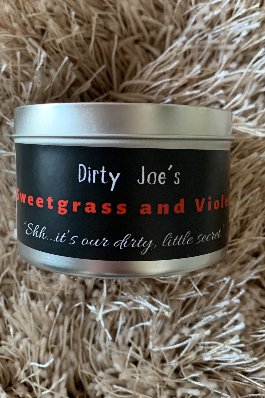 Dirty Joes Candle --Goin Deep In The Jeep - Front Full Image