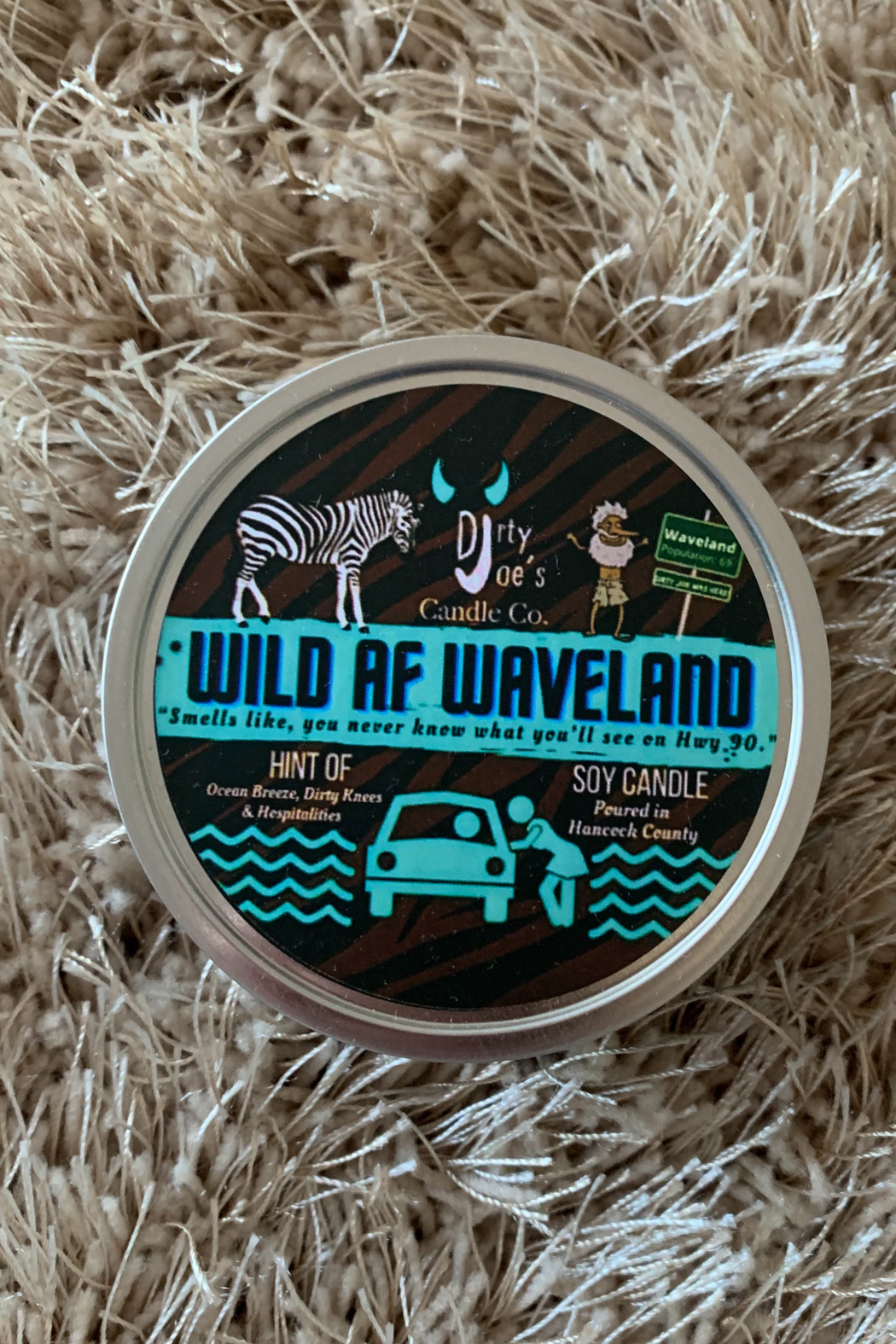 dirty joes candles Dirty Joes Candle--Wild AF Waveland - Main Image