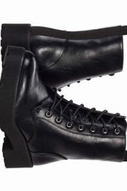 Dirty Laundry Mazzy Combat Boots - Black - Product Mini Image