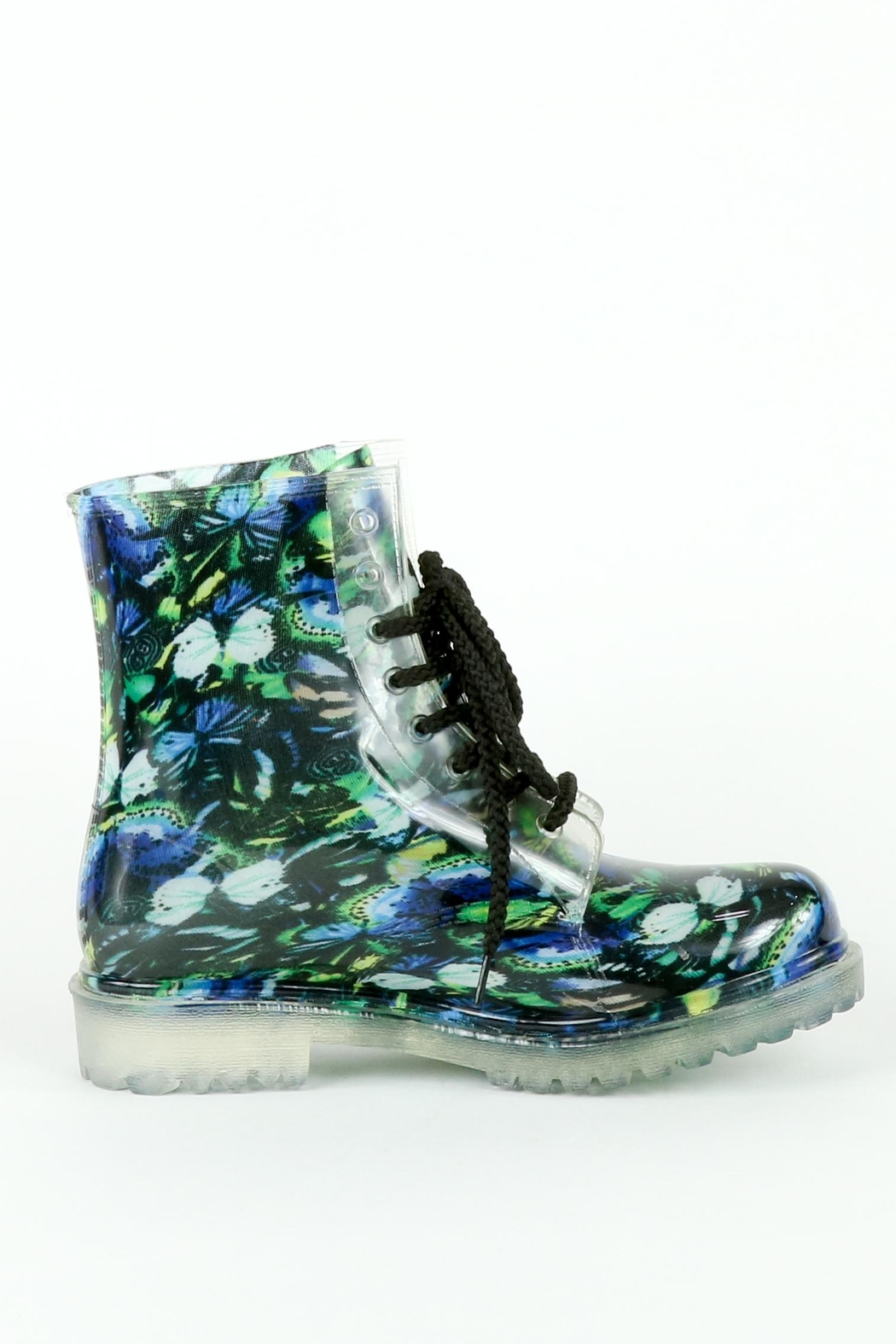 Dirty Laundry Butterfly Roadie Booties - Front Full Image