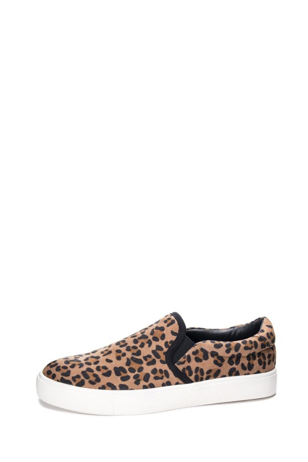 Dirty Laundry Cheetah Emory Sneakers - Front Cropped Image