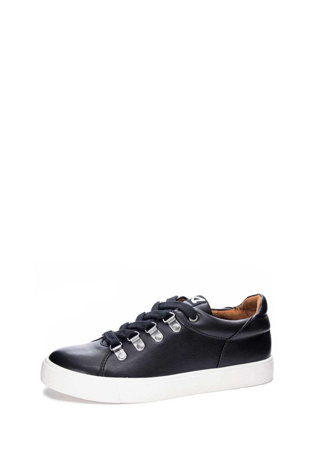 Dirty Laundry Elle Leather Sneaker - Front Full Image