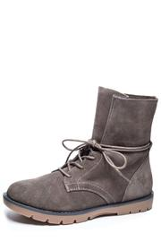 Dirty Laundry Grey Suede Motoboot - Product Mini Image