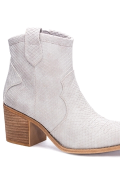 Dirty Laundry Unite Snakeskin Booties - Product List Image