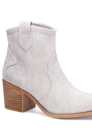 Dirty Laundry Unite Snakeskin Booties - Product Mini Image