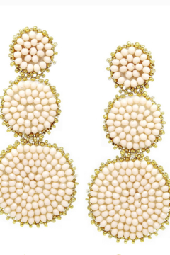 US Jewelry House Disc Drop Earring - Product List Image