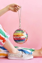 Packed Party Disco Ball Clutch - Front full body