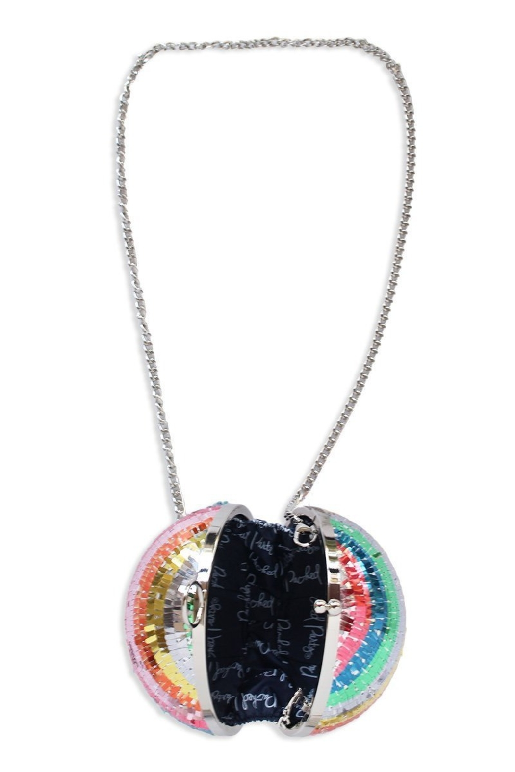 Packed Party Disco Ball Clutch - Side Cropped Image