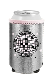 Talking Out Of Turn  Disco Ball Metallic Can Cooler - Product Mini Image