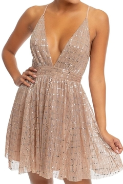 Shoptiques Product: Disco-Shine Tutu Dress