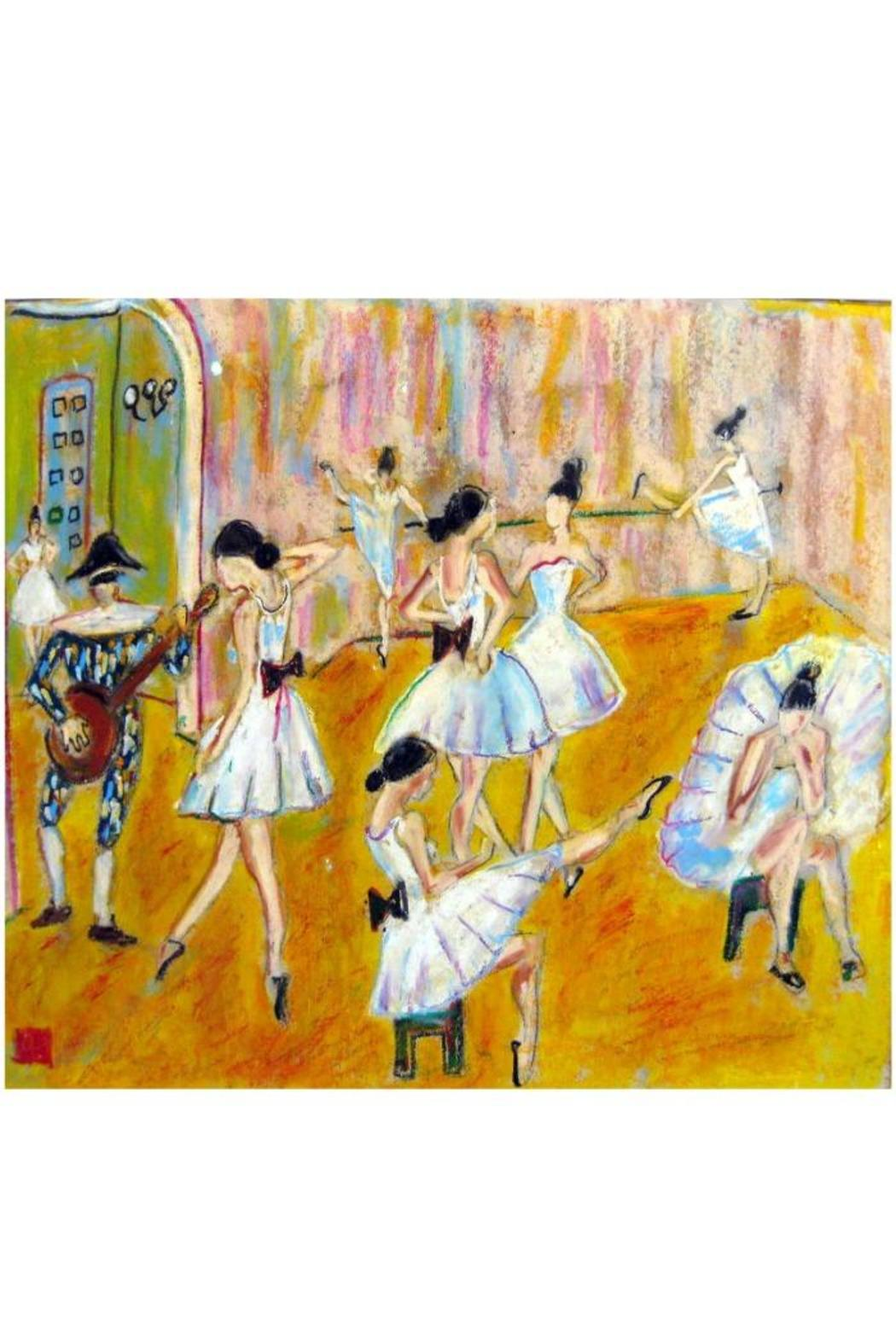 Diseño bos Ballet Studio Painting - Front Cropped Image