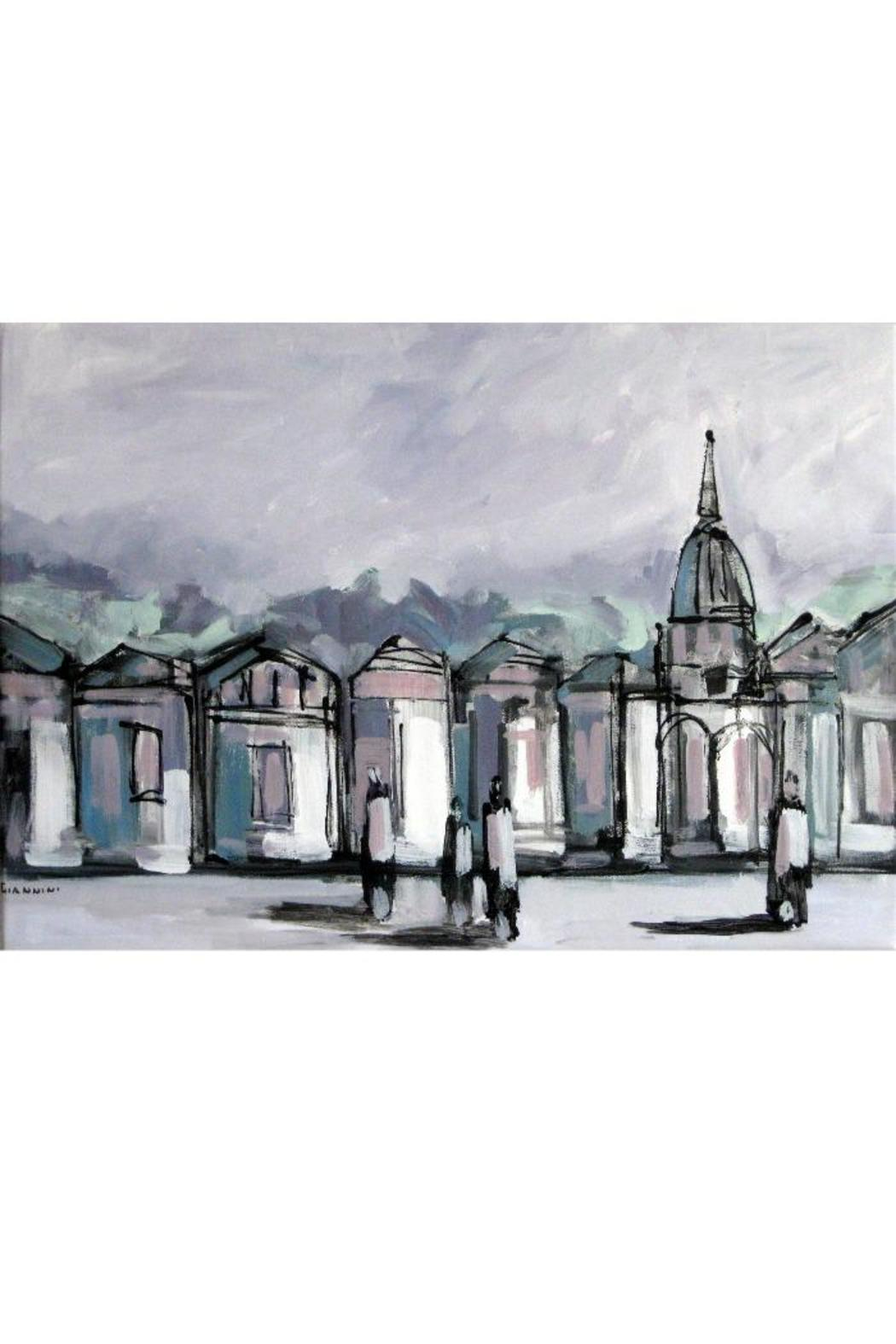 Diseño bos Cityscape Painting - Main Image