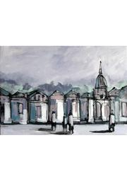 Diseño bos Cityscape Painting - Front cropped