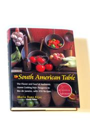 Diseño bos South American Table - Front full body