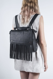 Disenia Black Backpack - Front cropped