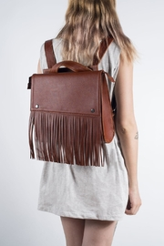 Disenia Brown Backpack - Front cropped