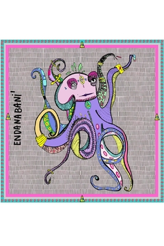 Shoptiques Product: Chiffon Octopus Scarf