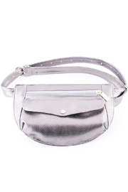 Disenia Silver Fanny Bag - Front cropped