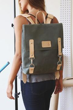 Shoptiques Product: Waxed Canvas Backpack