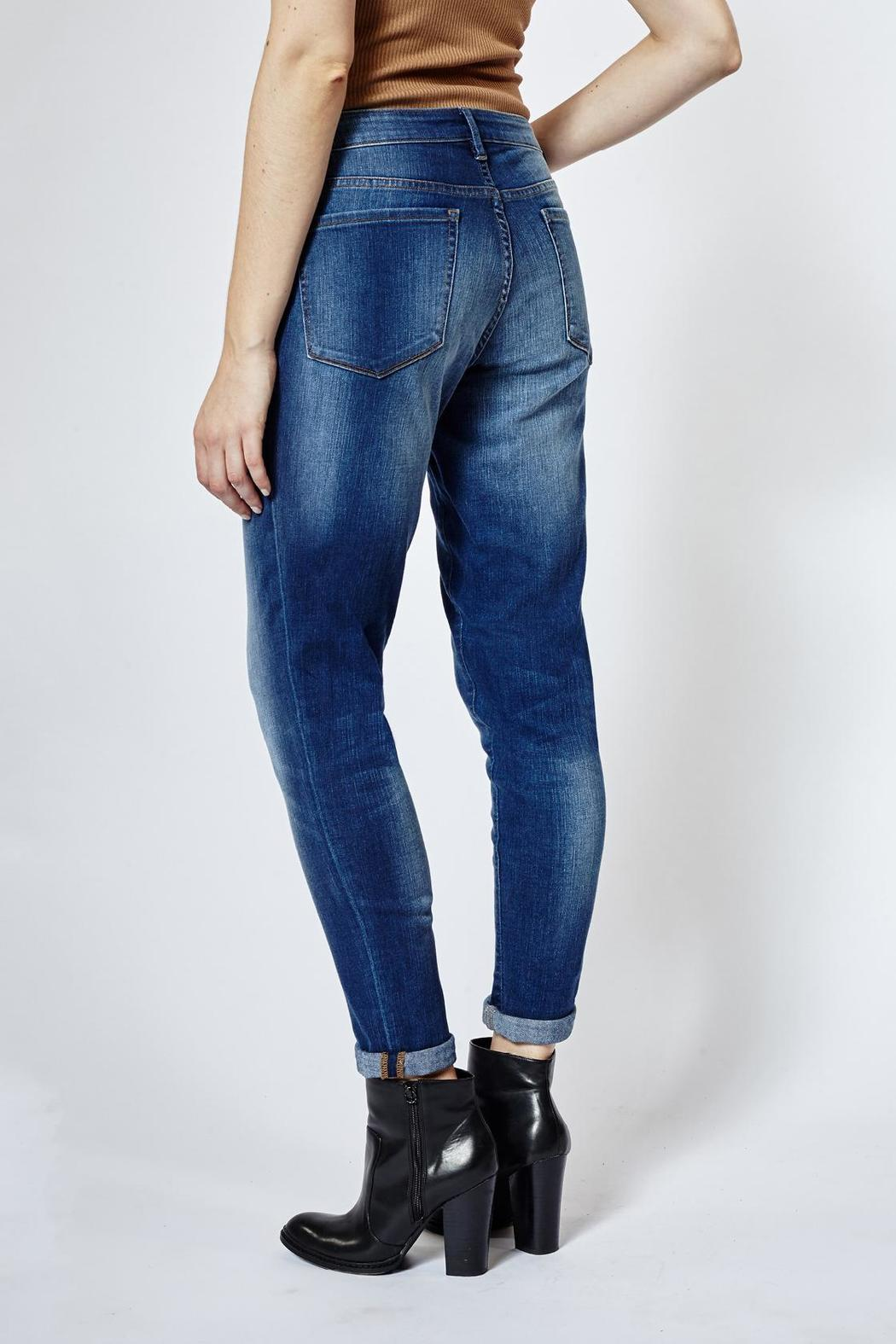 DISH Relaxed Skinny Denim - Side Cropped Image