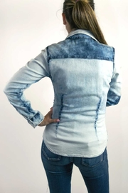 Dishejeans Dishe Shirt Blue - Front full body