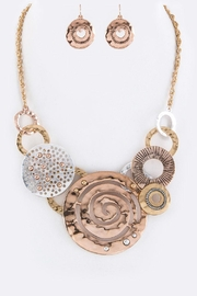 Nadya's Closet Disks & Hoops Necklace-Set - Product Mini Image