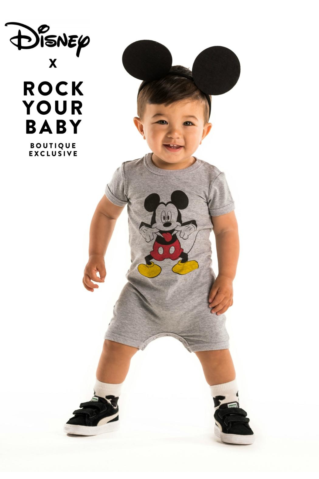 Rock Your Baby Disneyland Playsuit - Front Full Image