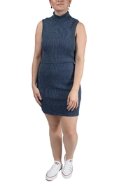RVCA Dispatch Mock-Neck Dress - Product Mini Image