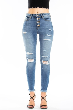 Kan Can DISTRESS LT.WASH SKINNY - Product List Image