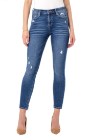 Liverpool  Distressed Abby Ankle Skinny in Harper - Product Mini Image