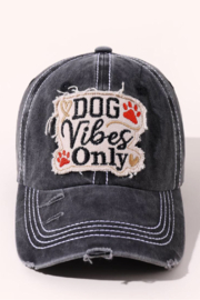 Coco International Distressed baseball hat - Front cropped