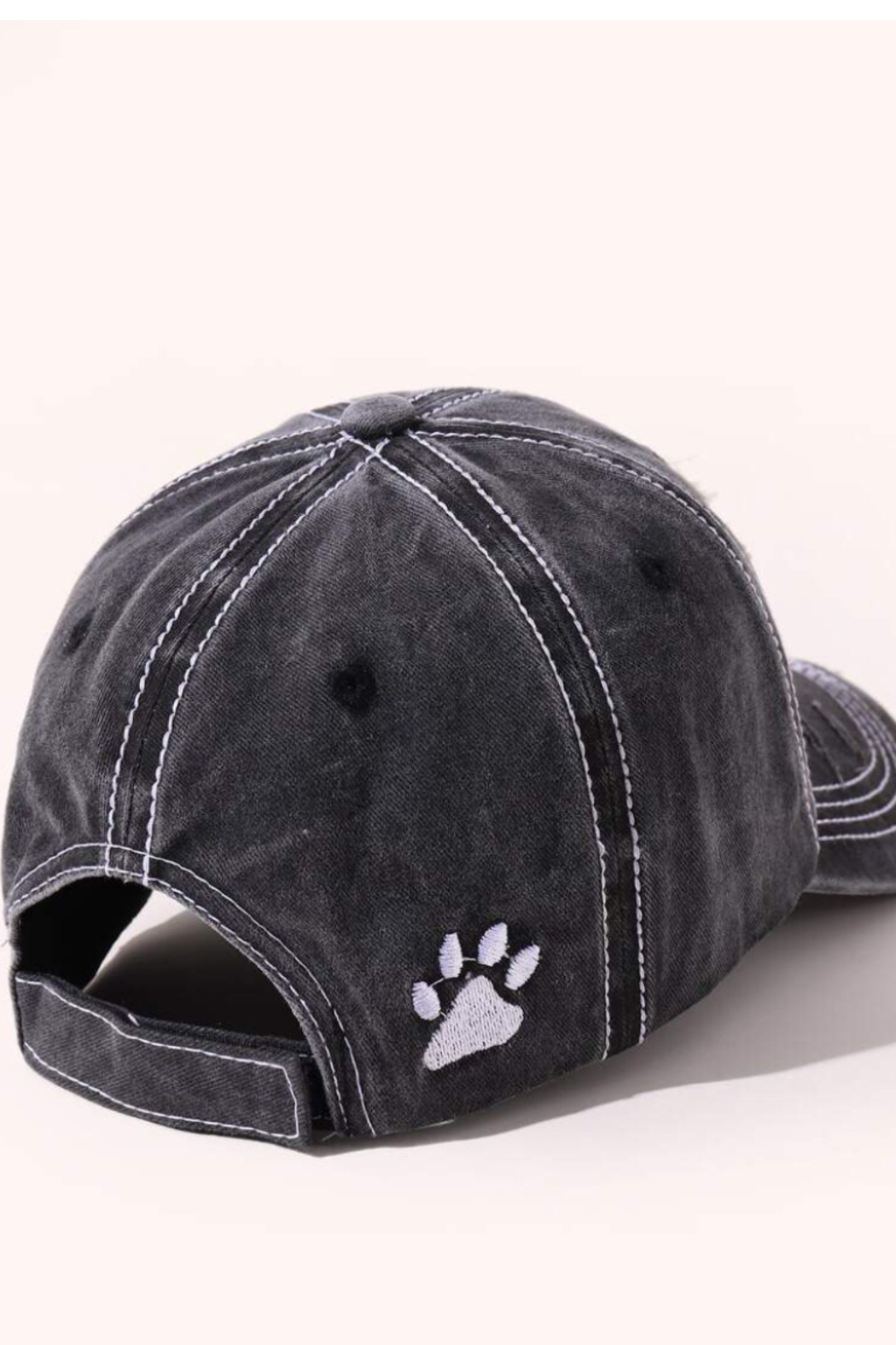Coco International Distressed baseball hat - Side Cropped Image