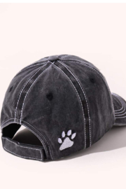 Coco International Distressed baseball hat - Side cropped