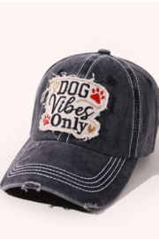 Coco International Distressed baseball hat - Front full body
